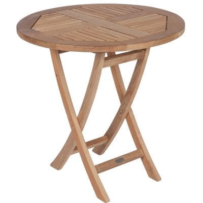 Royal Teak Collection Medium Sailor Round Folding Table