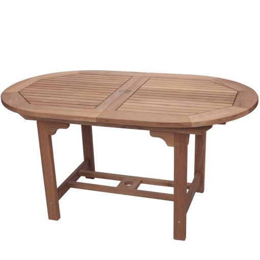 Royal Teak Collection Small Oval Family Expansion Table