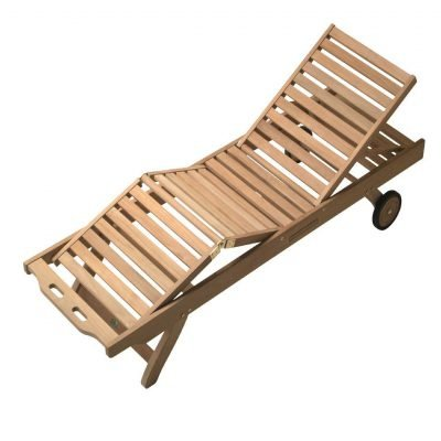 Royal Teak Collection Sun Bed - SNBL