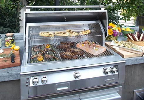 built in gas grills at the outdoor store