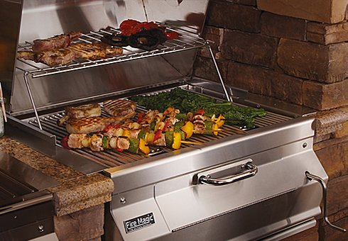 charcoal grills at the outdoor store