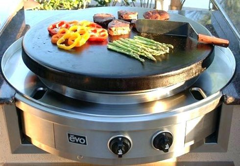 flat top grills at the outdoor store