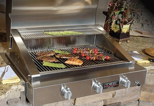 infrared gas grills at the outdoor store