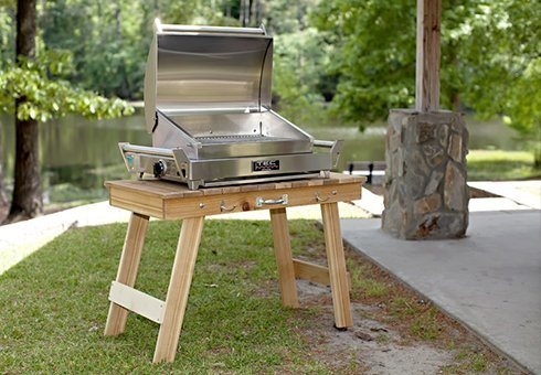 portable grills at the outdoor store