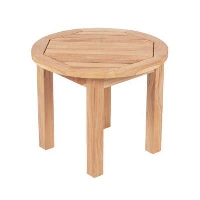 Royal Teak Collection Miami Round Side Table - MIASTR