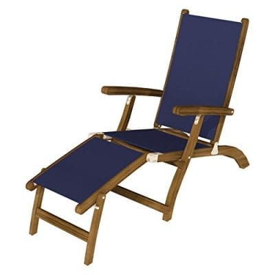 Royal Teak Collection Navy Steamer Sling - STSLN