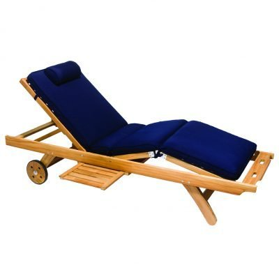 Royal Teak Collection Navy Sun Bed Cushion - CUSBN
