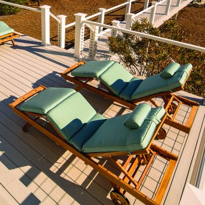 Royal Teak Collection Spa Sun Bed Cushion - CUSBSPA