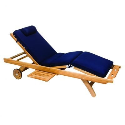 Royal Teak Collection Granite Sun Bed Cushion - CUSBGRA