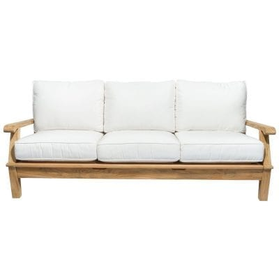 Royal Teak Collection Miami 3 Seater Sofa