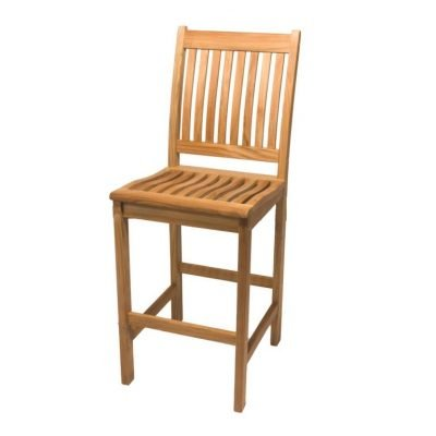Royal Teak Collection Bar Side Chair