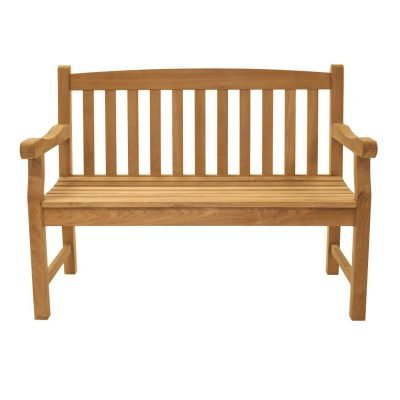 Royal Teak Collection Classic Two-Seater Bench – CC2S