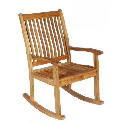 Royal Teak Collection Highback Rocking Lounge Chair – RKC