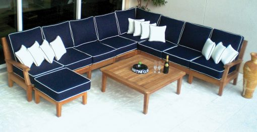 Royal Teak Collection Miami Sectional Insert
