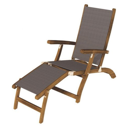 Royal Teak Collection Gray Steamer Sling - STSLG