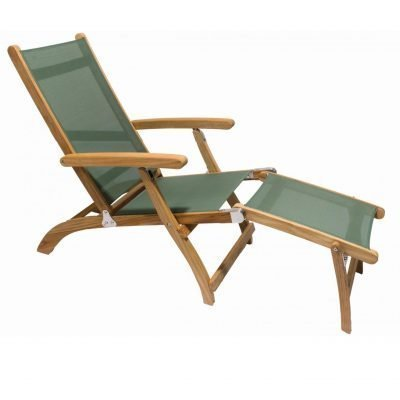 Royal Teak Collection Moss Steamer Sling - STSLM