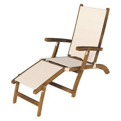 Royal Teak Collection White Steamer Sling