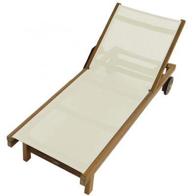 Royal Teak Collection White Sundaze Sling