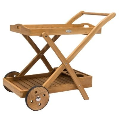 Royal Teak Collection Tray Cart - TTC