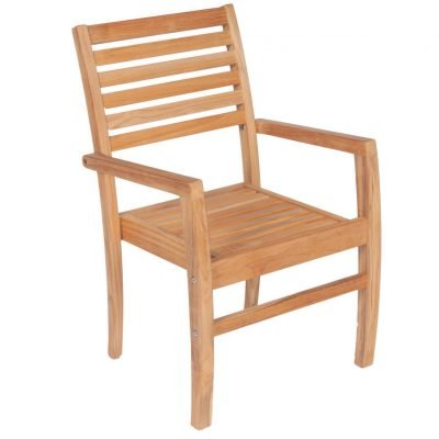 Royal Teak Collection Avant Stacking Chair