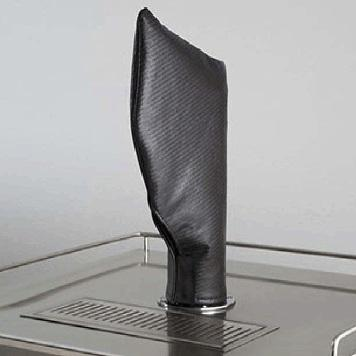 Lynx Beverage Dispenser Tap Tower Carbon Fiber Vinyl Cover