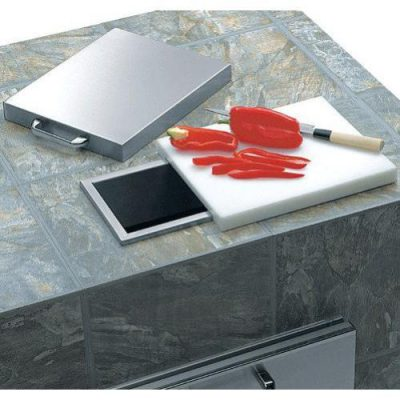 Lynx Professional Countertop Trash Chute Plus Cutting Board