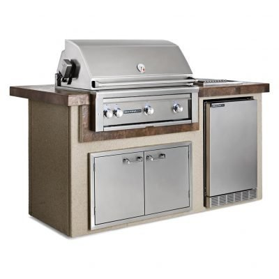 Lynx Island Package Including 36-Inch Sedona Rotisserie Grill
