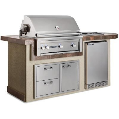 Lynx Deluxe Island Package Including 36-Inch Sedona Rotisserie Grill