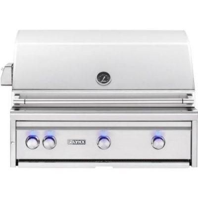 Lynx Professional 36-Inch Infrared Grill Plus Rotisserie