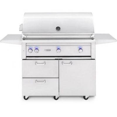 Lynx Professional 42-Inch Freestanding Grill Plus Rotisserie
