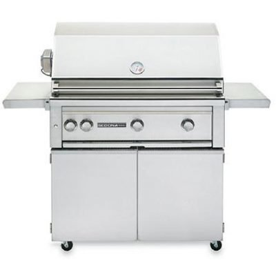 Lynx Sedona 36-Inch Freestanding Conventional Grill Plus Rotisserie