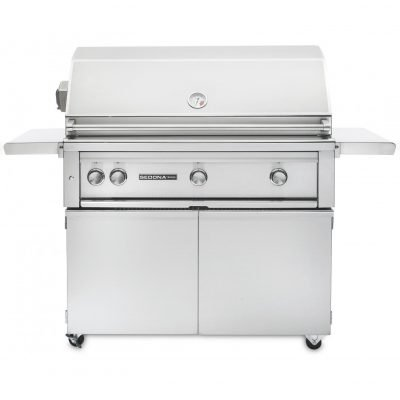 Lynx Sedona 42-Inch Freestanding Conventional Grill Plus Rotisserie
