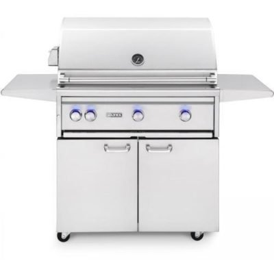 Lynx Professional 36-Inch Freestanding Infrared Flametrak Rotisserie Grill