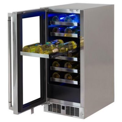 Lynx Professional 15-Inch Left Hinge Outdoor Wine Cellar