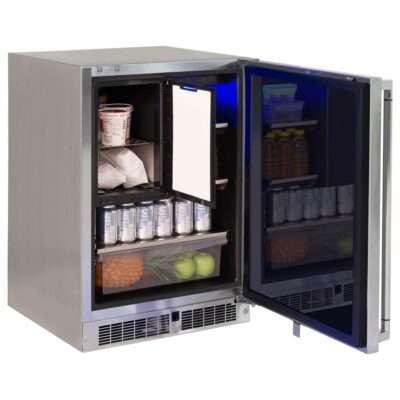 Lynx Professional 24-Inch Refrigerator Freezer Combo