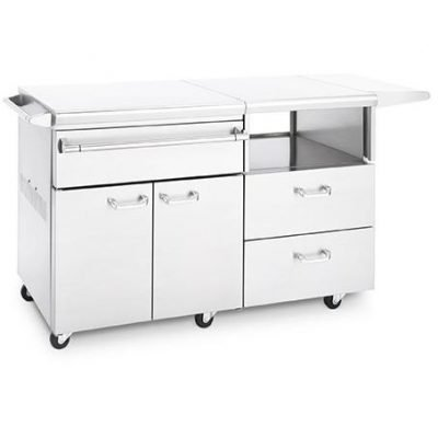 Lynx Professional Stainless Steel Mobile Kitchen Cart