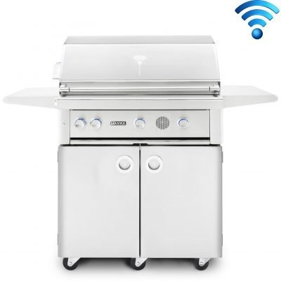 Lynx Professional 42-Inch Freestanding Smart Grill