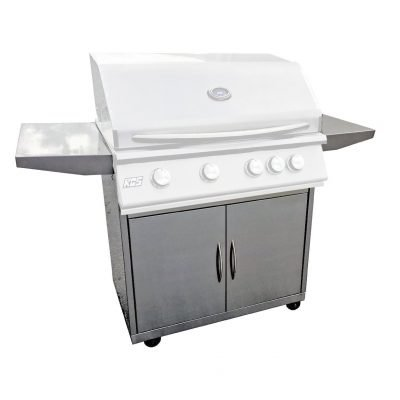 RCS 40-Inch Stainless Steel Grill Cart