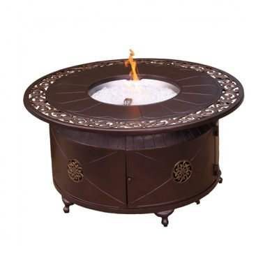 AZ Patio Heaters 48-Inch Round Bronze Fire Pit
