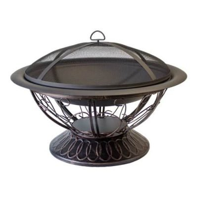AZ Patio Heaters 30-Inch Wood Burning Fire Pit