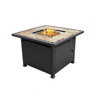 AZ Patio Heaters Square Tile Fire Pit