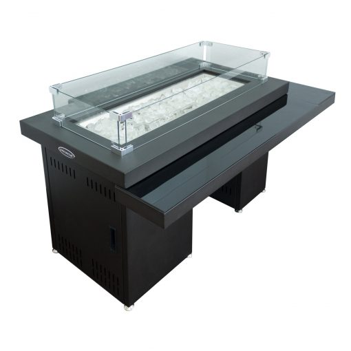 Az Patio Heaters Two Tiered Glass Top Fire Pit Gsf Rfp