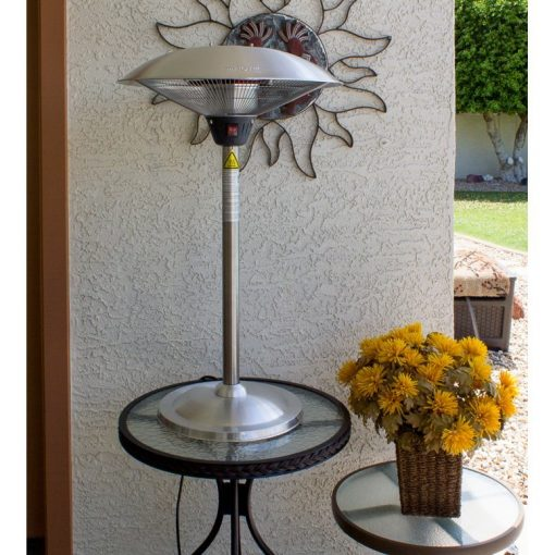 AZ Patio Heaters Stainless Steel Table Top Electric Heater