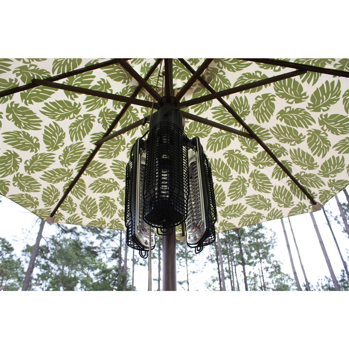 Az Patio Heaters Electric Parasol Heater The Outdoor Store