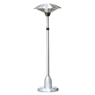 AZ Patio Heaters Stainless Steel Telescopic Electric Heater