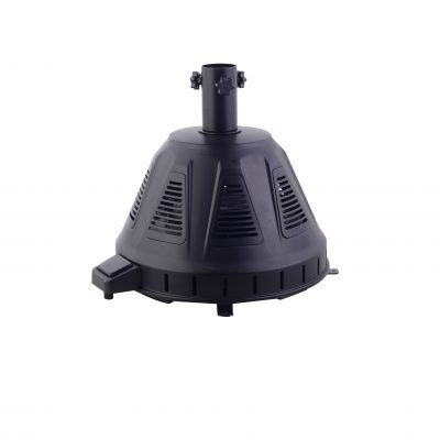 AZ Patio Heaters Black Umbrella Base Electric Heater