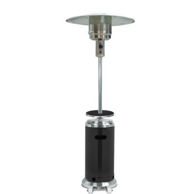 AZ Patio Heaters 87-Inch Black Stainless Heater
