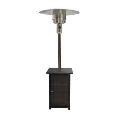AZ Patio Heaters 87-Inch Square Wicker Heater