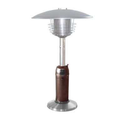 AZ Patio Heaters 38-Inch Bronze and Steel Table Top Heater