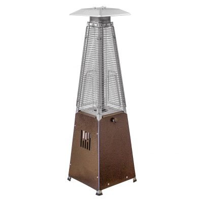 AZ Patio Heaters 39-Inch Bronze Table Top Glass Tube Heater